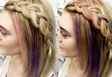 Pravana Just Debuted a Hair Color That Changes in the Heat