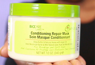 Have You Tried This moisturizing hair masque for dry curly hair?