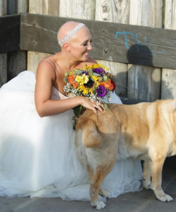 This Alopecia Sufferer Chose to Rock Her Bald Head on Wedding Day