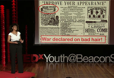 TEDx Speaker Cheyenne Cochrane talks Curls, Culture, and Empowerment