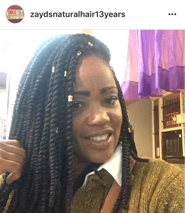 Zayd S Natural Hair