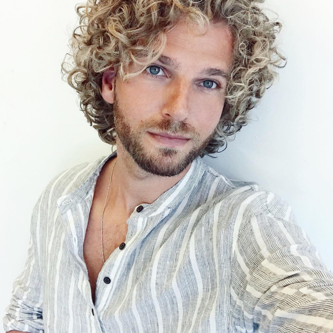 Curly Blonde Guy 3