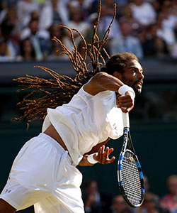 Dustin Brown Won our Hearts at Wimbledon 2017