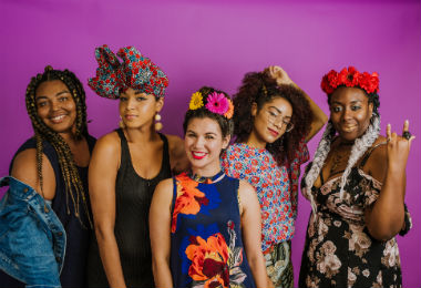 We Wore Popular Festival Hairstyles to Work