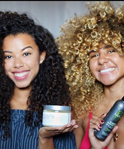 Curly Hair Travel Tips: FroGirlGinny + Lauren Lewis Go With The Fro Tour Routine
