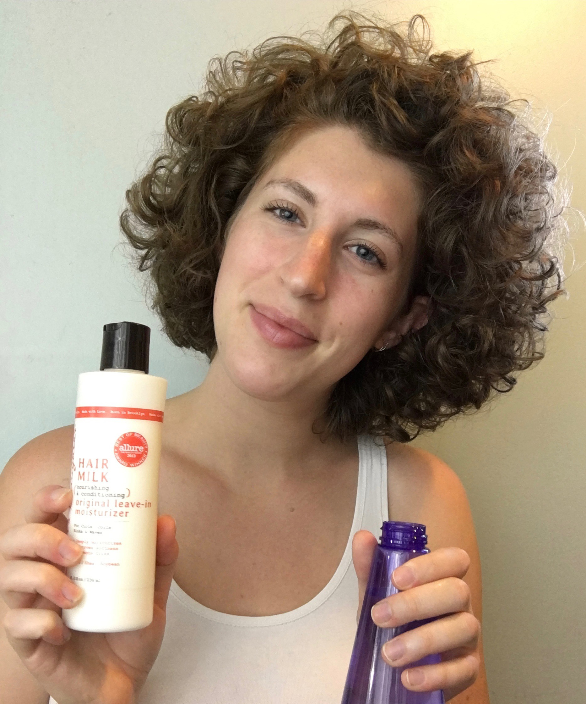 """How I Revive My """"Crazy"""" Curly Hair in the Morning"""