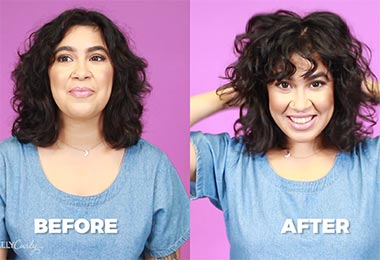 how to add volume to curly hair roots