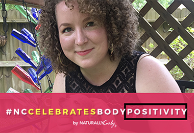 Loving My Curls Helped Me Love My Body After Weight Gain #NCCelebratesBodyPositivity