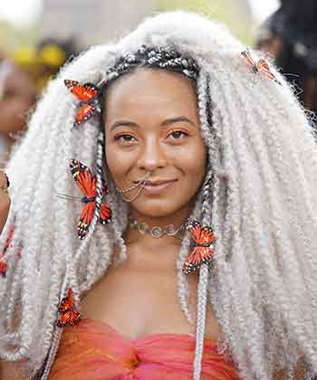 40 Pictures of The Best #HairInspo from AfroPunk 2017