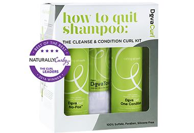 SHOP: DevaCurl How to Quit Shampoo Kit