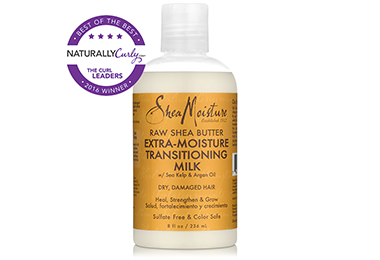 SHOP: SheaMoisture Raw Shea Butter Extra-Moisture Transitioning Milk (8 oz.)