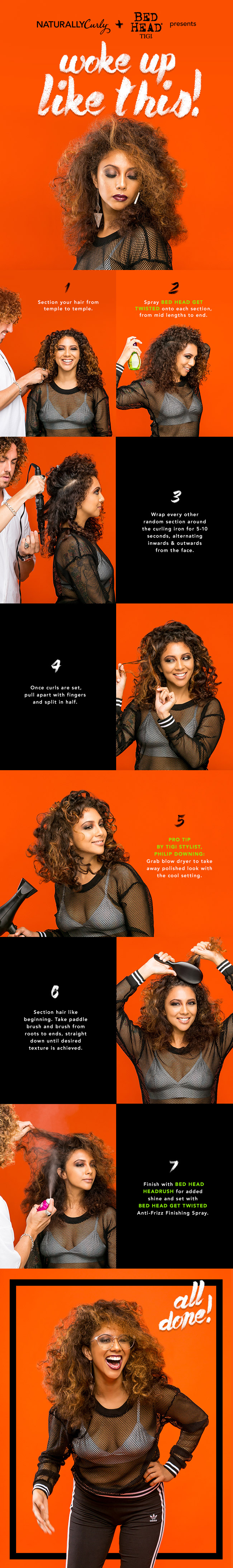 how to get curls like ishateria
