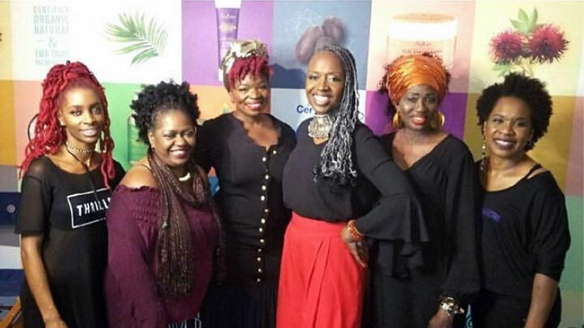 Diane C Bailey and team of hairstylists and hair sculpture artists