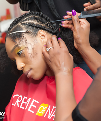 Runway Hair Artistry: Behind TOTR with Pekela Riley