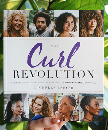 "NaturallyCurly's Book ""The Curl Revolution"" Hits Bestseller List"