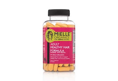 Favorite Hair Growth Product - Mielle Organics Adult Healthy Hair Formula Vitamins (60 ct.)