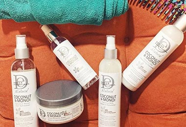 Hydrating your Curls with Design Essentials Naturals is a WIN! WIN!